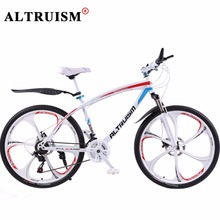 Buy ALTRUISM Q1 Mountain Bike 24 Speed Aluminum Road Bike Bicicleta Bicycle 26 Inch Bisiklet Bicycle Velo Mens Double Disc Brake for $369.98 in AliExpress store