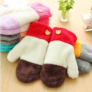 Hot!Candy color winter gloves are fashionable and all-match that women gloves winter can make them look lovely and cute(China (Mainland))