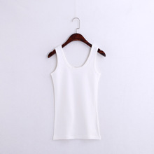 Fashion Wild Pure Cotton Vest Slim Thin Vest Comfortable Bottoming Shirt Nine Colors Factory Outlet Free Shipping