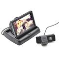 Car Parking Reverse Cam for Benz Vito Viano 4 3 Inch Folding Car Monitor Car Backup