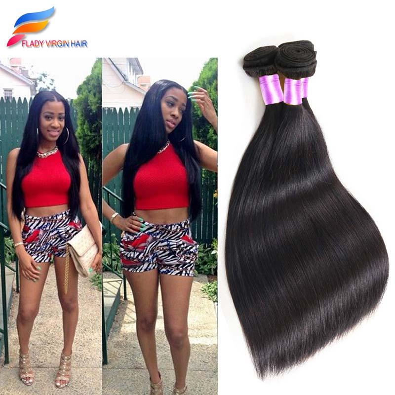 3 Bundles Brazilian Straight Virgin Hair Brazilian Straight Hair Weave Bundles Pure Color Straight Плетеные шиньоны из Бразильских волос