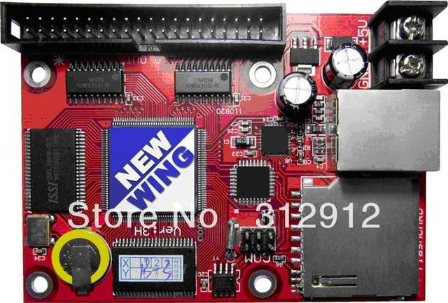 single & dual color led display control card with hub transfer board,support both synchronous and asynchronous