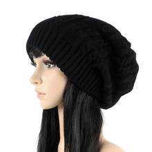 Fashion Women Casual Beanies Skullies,5 Colors Warm Stripes Knitted Gorros Bonnet Femme,Autumn Winter Hat Cap For Girls #HC20050(China (Mainland))