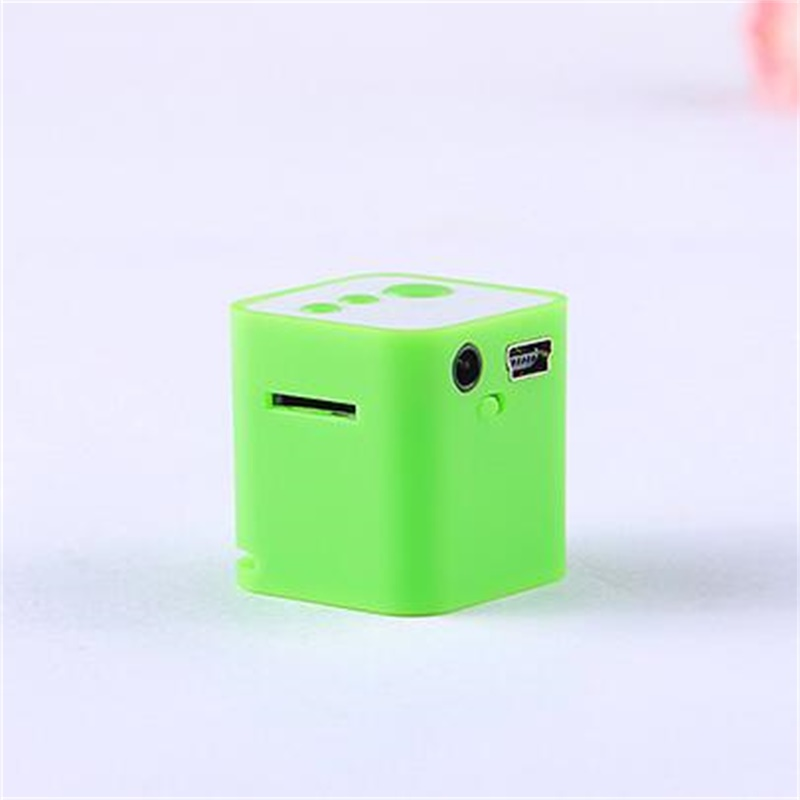 Portable Speaker Mini MP3 Music Player Loudpeaker USB TF/SD Wireless Subwoofer MP3 Player with 3.5mm Earphone Port Perfect Sound(China (Mainland))