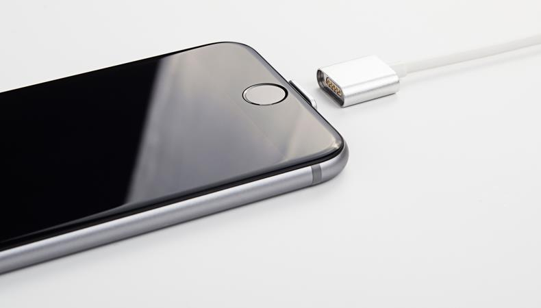 Original Snap Cable Metal Magnetic 8 Pin USB Charging Charger Cables for iPhone SE 5s 6 6s Plus for Lightning Aluminum CNC 1.2M