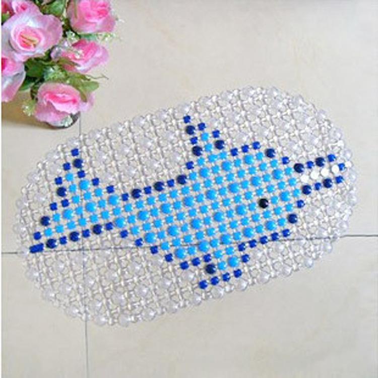 Factory direct pvc bath mat cartoon dolphin pad slip mat bath mat bath mat FREE SHOPPING(China (Mainland))
