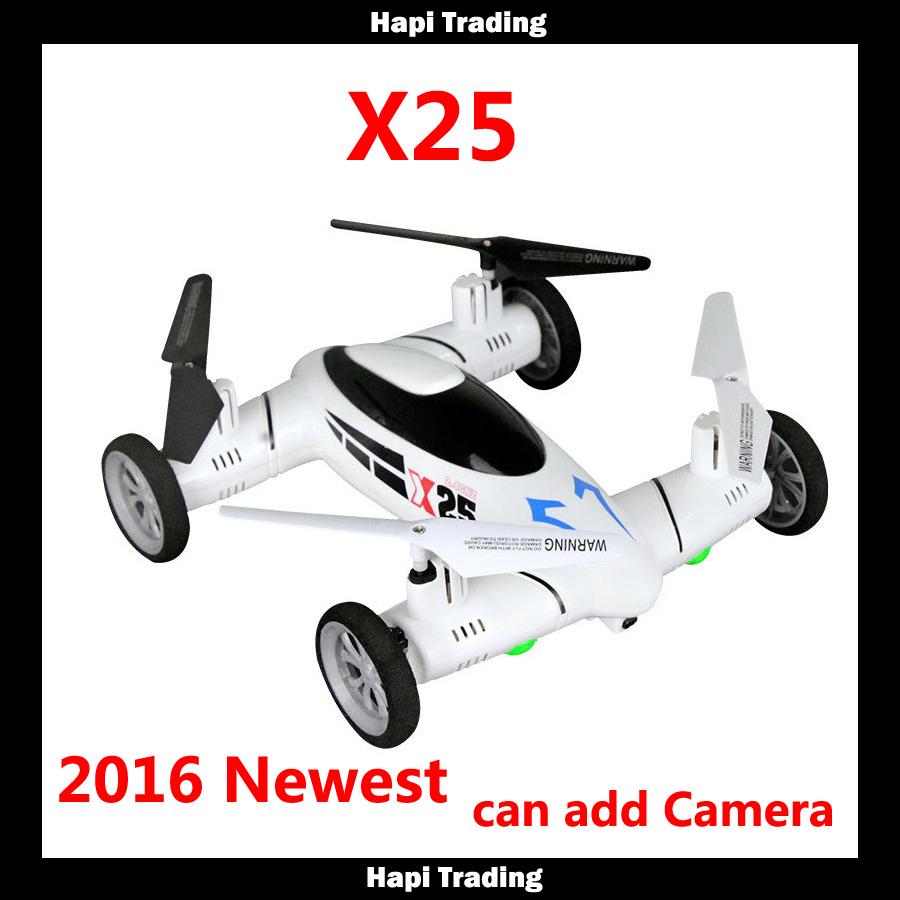 SongYang X25 RC Quadcopter 8CH 2.4G Transmiter 4Axis 3D Roll RC Flying Car can add Camera One key return helicopter vs syma x9(China (Mainland))