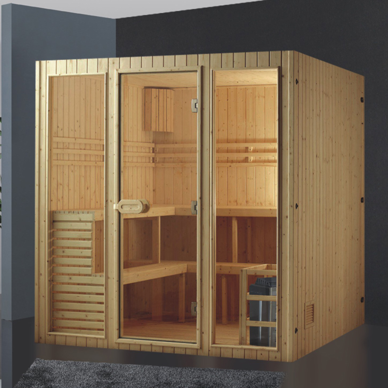 how to build a dry sauna at home
