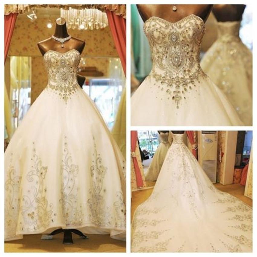 Свадебное платье сваровски