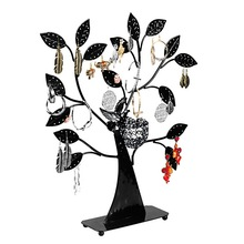 FUNIQUE Brand Jewelry Boxes And Packaging Black Jewelry Holder Tree Shape Earring Display Stand For Bracelet & Ring Display(China (Mainland))