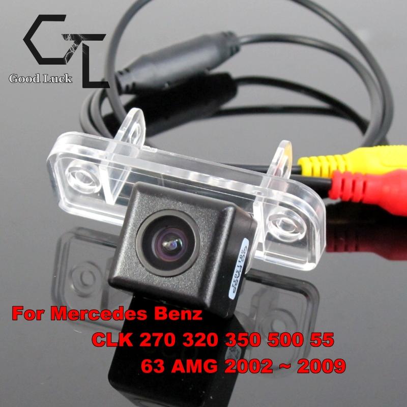 For Mercedes Benz CLK 270 320 350 500 55 63 AMG 2002 ~ 2009 wireless Backup Rear View Reversing HD CCD Night Vision Car Camera(China (Mainland))