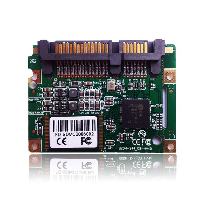 Half slim ssd module 8gb sataIII MLC solid state drive for notebook computer flash drive ssd hard drive(China (Mainland))