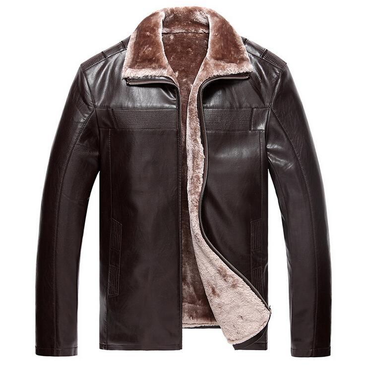 Free Shipping 2015 Men Leather Jacket Veste Cuir Homme Mens Leather Jacket Chaqueta Cuero Hombre Jaqueta De Couro Biker Jacket