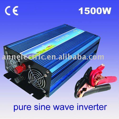 Pure Sine Wave Inverter CZ-1500S 1500w,12VDC/24VDC,for solar system,wholesale/retail(China (Mainland))