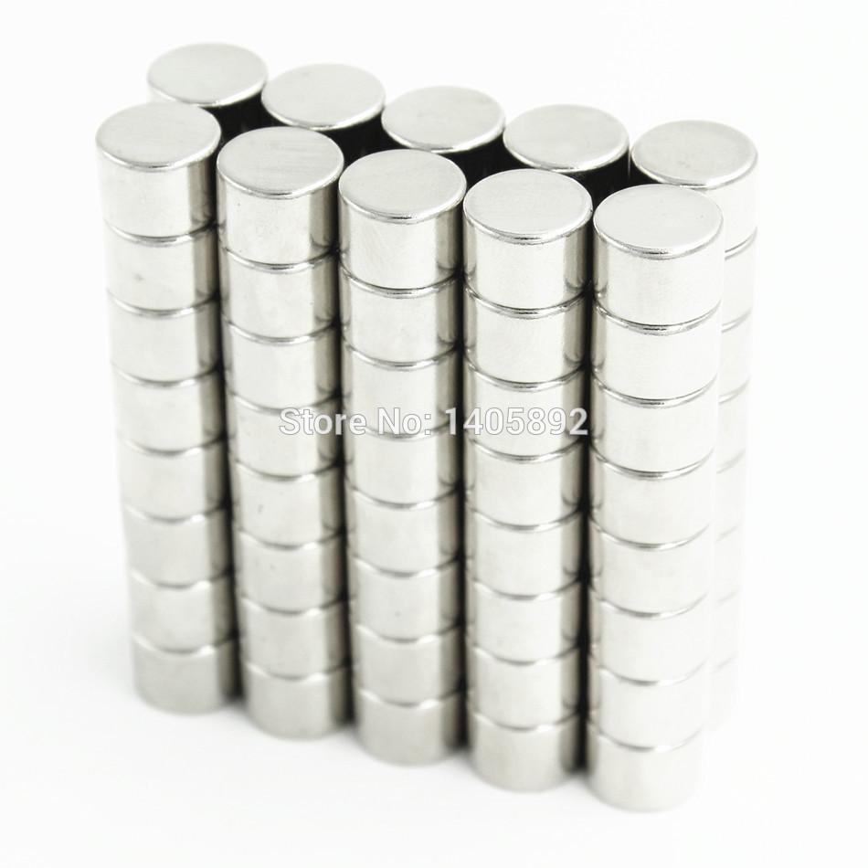 50pcs Super Powerful Strong Bulk Small Round NdFeB Neodymium Disc Magnets Dia 10mm x 7mm N35  Rare Earth NdFeB Magnet<br><br>Aliexpress