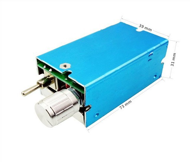 12v 24v 3a Pwm Dc Motor Variable Speed Controller