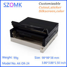 Buy  (10 pcs) plastic wall mount enclosure plastic box plastic housing PCB abs plastic enclosure abs switch box 98*98*38mm for $62.10 in AliExpress store