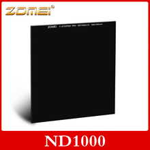 Zomei 100 mm ND1000 Square filtre densité neutre 10 arrêter Optical Glass pour Cokin Z(China (Mainland))