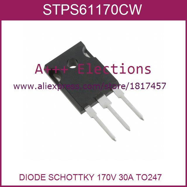 STPS61170CW 61170 STPS61170 TO-247-3 5pcs Diy Kit Electronic Production(China (Mainland))