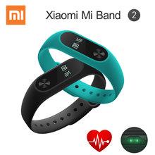 В Наличии Оригинала Xiaomi Mi Группа 2 Браслет Браслет с Smart Сердечного Ритма Фитнес Сенсорная Панель OLED Носимых Устройств(China (Mainland))