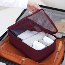 Travel Luggage Clothes Mesh Pouch Organizer Bag (S) ver.2 Monopoly Storage Bag Tidy Box MUS(China (Mainland))