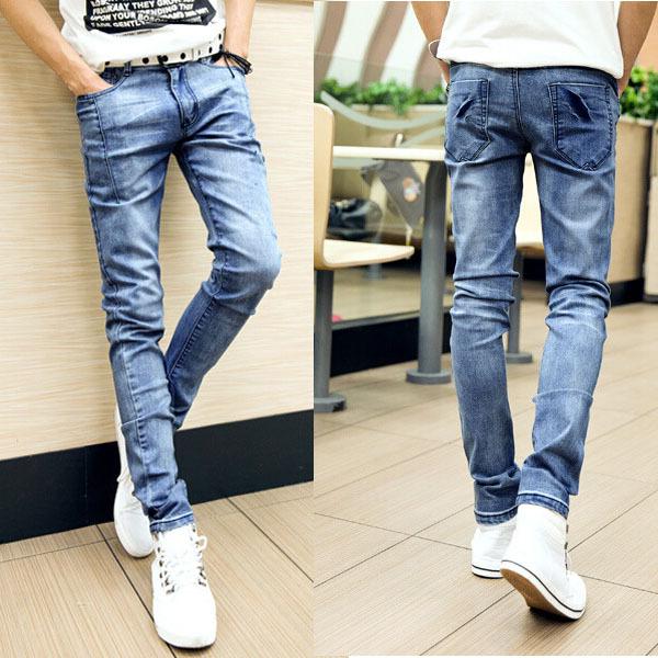 Boys Skinny Jeans Jeans Slim Fit Skinny Male