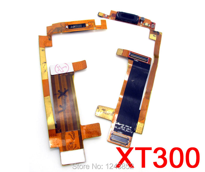earpiece speak flex cable repair replacement for Motorola XT300 Spice high quality(China (Mainland))