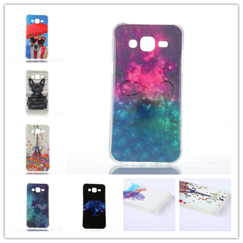 10 Style For Samsung Galaxy J5 J500 J500F Funny Word Paint Soft Silicon Back Cover Case Funda Coque For Galaxy J5 TPU Capinha(China (Mainland))