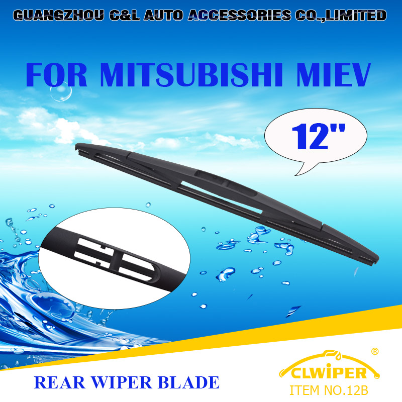 "For MITSUBISHI MIEV ,Exclusive Rear Car Windshield Windscreen Wiper Blade 12"" Fast shipping Cars styling accessories(China (Mainland))"