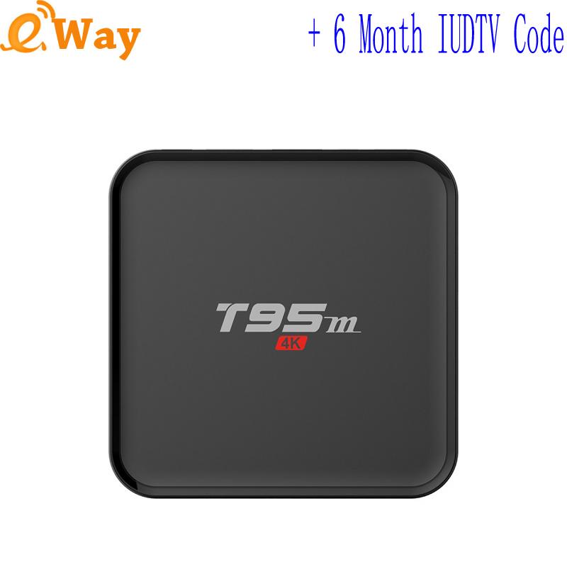 T95M quad core IPTV Box turkey Italy french Germany Europe IP TV Account Sweden UK 6 month code APK wifi set top box 2G 8G 4K 5G(China (Mainland))