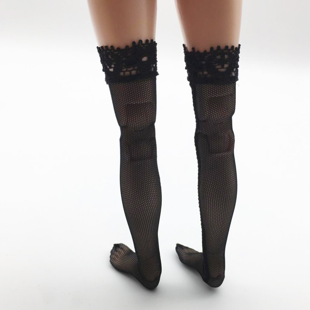 1/6 Female Clothing Accs Lace Stockings for 12'' Phicen TBLeague Figure Toy