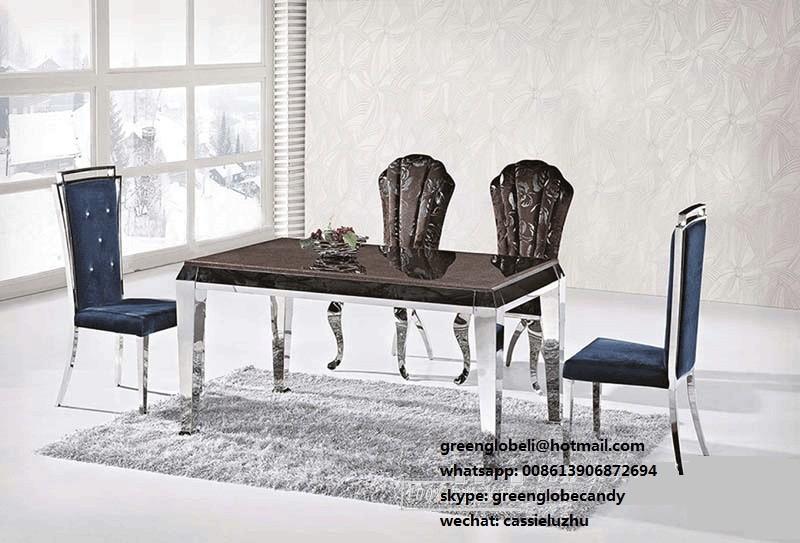 acquista all'ingrosso online elegante sala da pranzo set da ... - Tavolo Da Pranzo Set Con Tavola Rotonda
