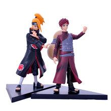 Mifen Craft 2pcs/set Naruto Action Figure 19cm Japan Anime Cartoon Naruto UCHIHA SASUKE PVC Action Figure Children Toys Hobbie