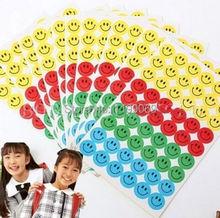 FD1213  Fun learning Smile Faces Reward Stickers School Teacher Merit Praise Happy ~540PCs~