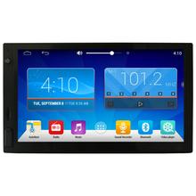 Android 2 DIN 4.4 Universal Car Stereo 7 inch 1024x600 GPS Navigation, WIFI Radio Bluetooth USB/SD Player 1.6G Quad Core CPU 1G(China (Mainland))
