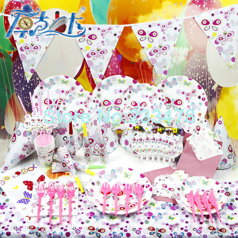 Popular Party Supplies Butterfly Theme-Buy Cheap Party Supplies ...