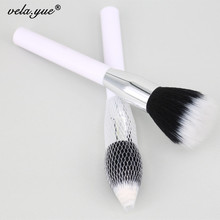 Professional 187 Duo Fibre Face Brush For Foundation Powder Blush Makeup Brush