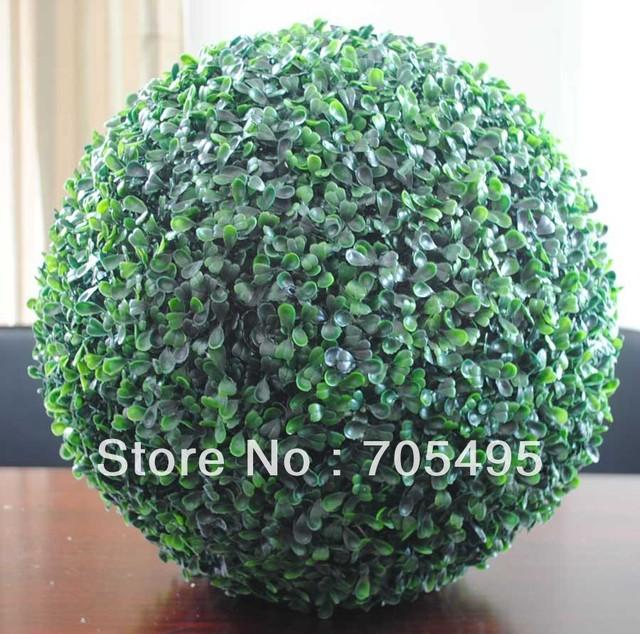 Free Shipping 12pcs/lot  9'' Artificial Boxwood Grass Ball Artificial Buxus Ball