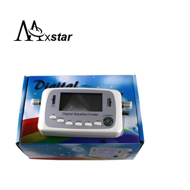 Hot selling SF-500 Digital Satellite Finder Signal Meter Finder DVB-S DVB-S2(China (Mainland))