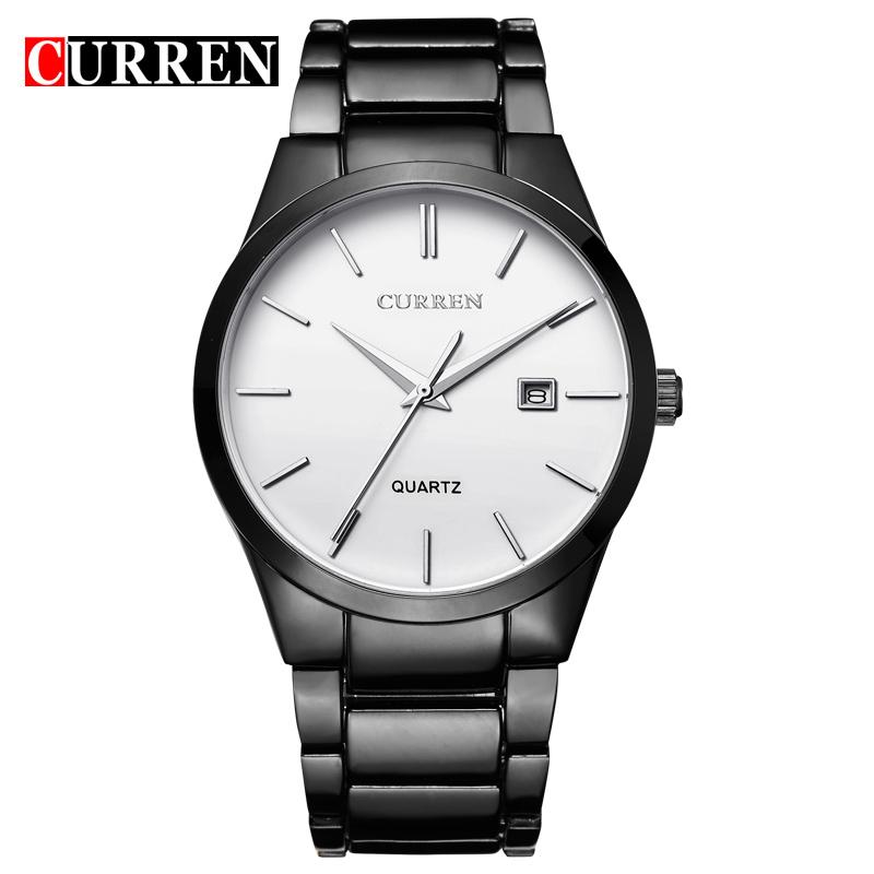 8106 relogio masculino CURREN Luxury Brand Full Stainless Steel Analog Display Date Men's Quartz Watch Business Watch Men Watch(China (Mainland))