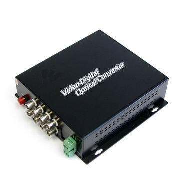50% Discount! Wholesaler,8 Channels Fiber Optic Digital video + Bidi Data Transceiver