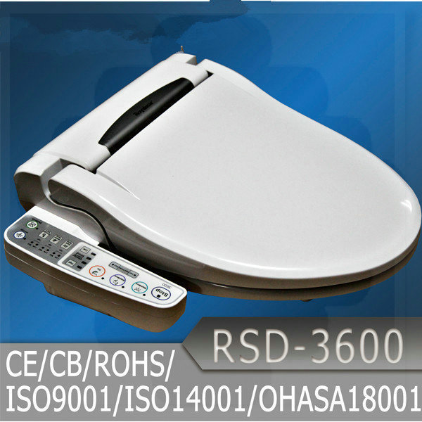 Intelligent toilet seat heated bathroom electronic toilet - Intelligent shower ...