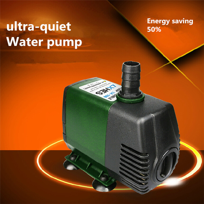 220v 32w water pump aquarium filter submersible pump high for Water pump filter box