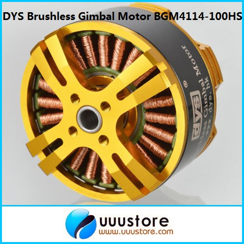 RC DYS High Performance Brushless Gimbal Motor BGM4114-100HS for FPV Aerial Photography<br><br>Aliexpress