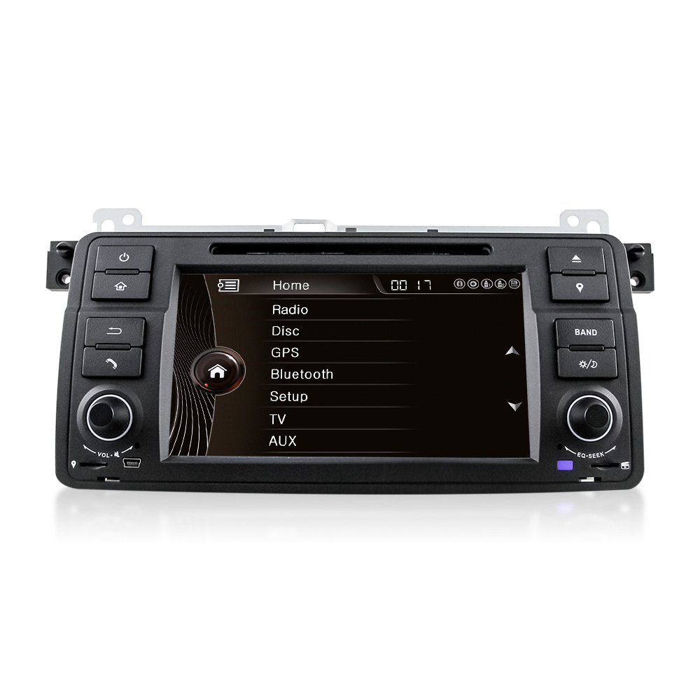 Car DVD Player for BMW E46(1998-2006) 800*480 GPS+Bluetooth+Radio+EX-TV 3G++7Color Button Light+USB/SD+SWC+AUX IN+Mirror-link(China (Mainland))