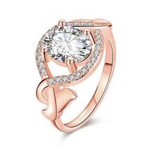R043-B High Quality Nickle Free Antiallergic New Fashion Jewelry 18k Plated Zircon Ring -34182-AAAAAA -34182-AAAAAA(China (Mainland))