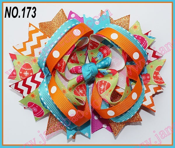 free shipping 30pcs 5.5''  B- ring hair bows  fest...