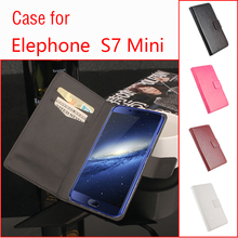 Buy Elephone S7 Mini Phone Case Folio Flip Pure Color Crazy House Pattern Premium PU Leather Wallet Case Cover for $4.13 in AliExpress store