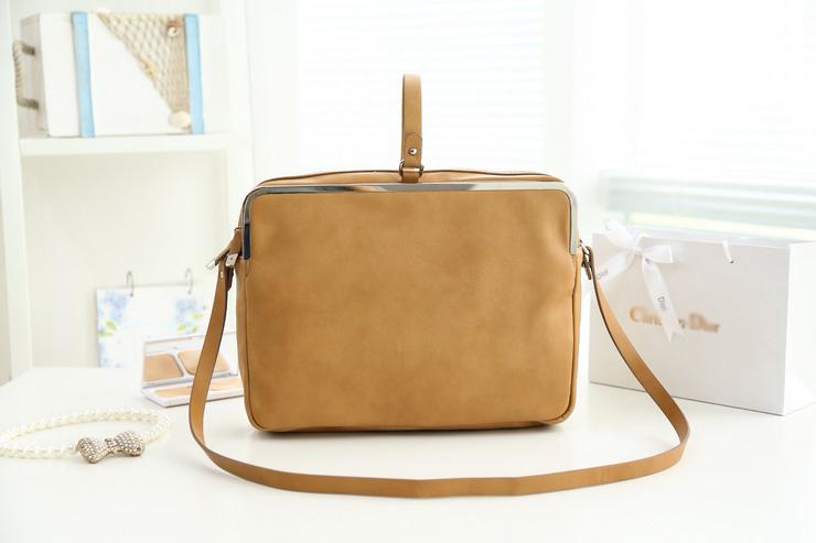 H1604 TTM Z Modern Fashion 2013 vintage bag Tan high quality Frame Messenger Bags Cross Body Free shipping hipping J13(China (Mainland))