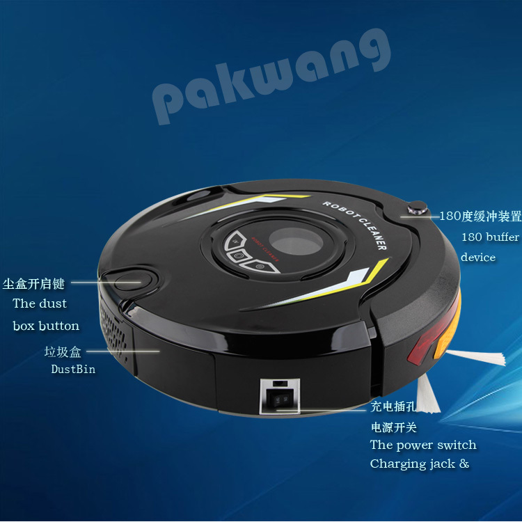 Most Advanced Robotic Vacuum Cleaner Wet and Dry,(Sweep,Vacuum,Mop,Sterilize),Schedule,2 Side Brush,parts electrolux(China (Mainland))
